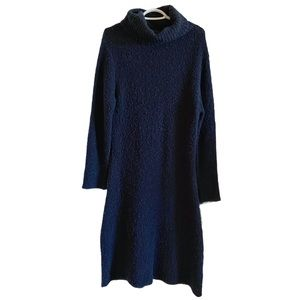 Simons La Contemporaine fuzzy wool sweater dress